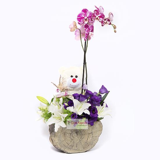 Hayatımın Şiiri Orkide Aranjmanı