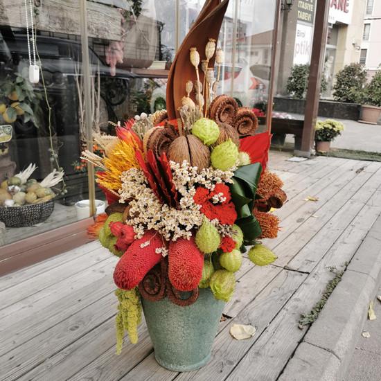 Kuru Çiçek Aranjmanı